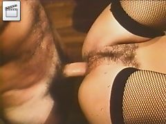 Hairy mature anal sex